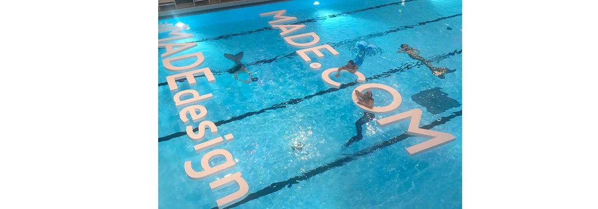 lettres piscine made