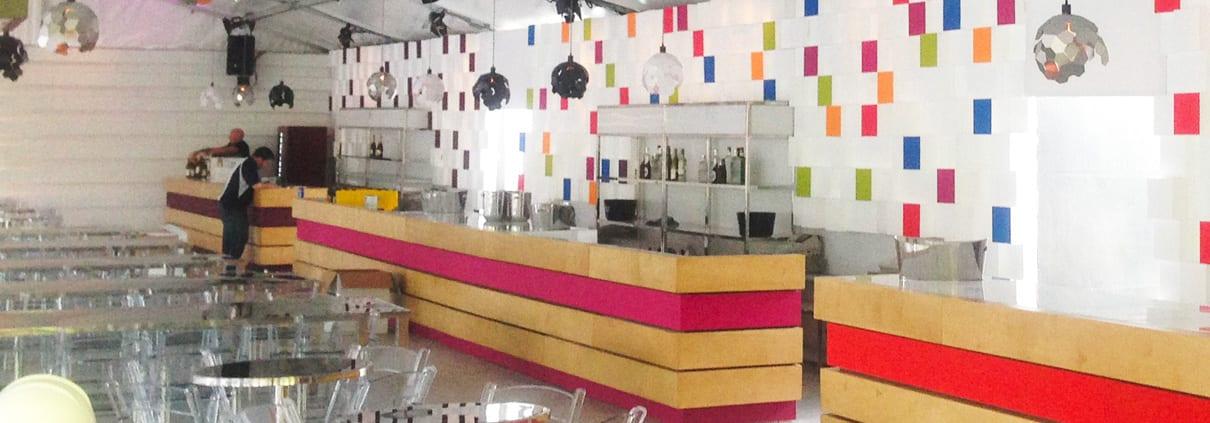element de decoration mur pixel