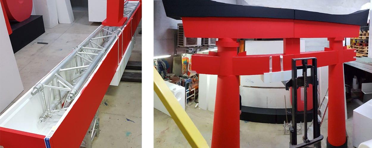 décoration-en-polystyrène-torii-gate