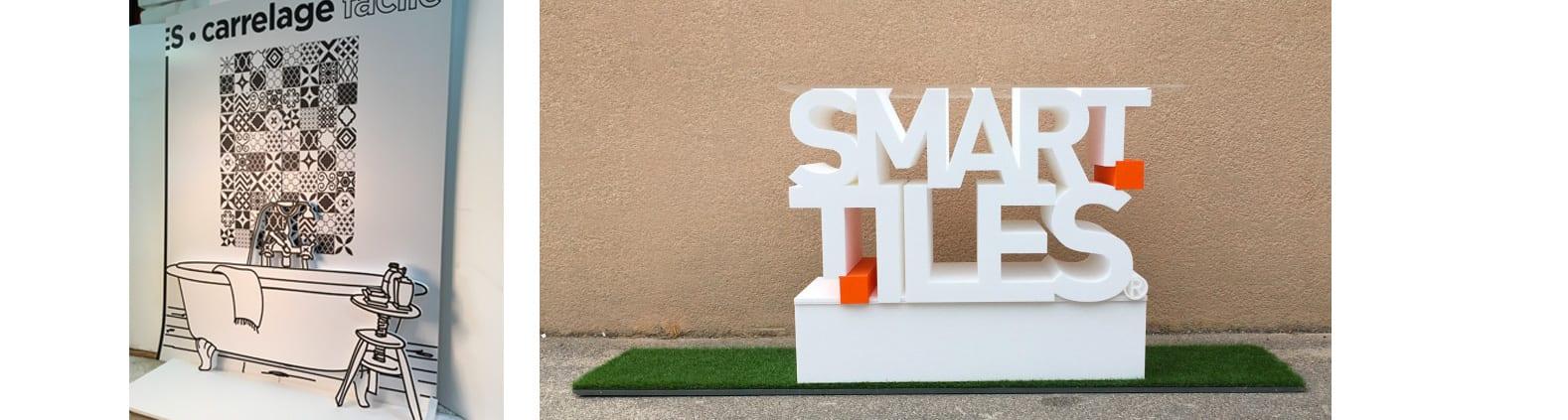 smart tiles stand