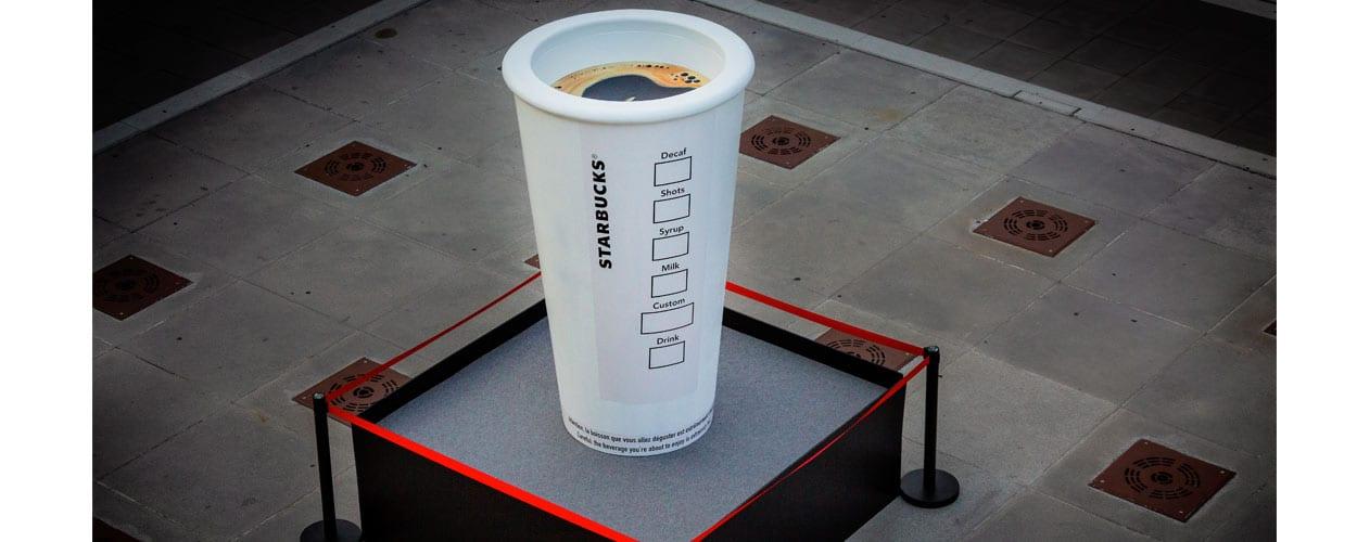 objet-street-marketing-géant-starbucks
